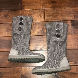 Women's size 6 knit ugg boots